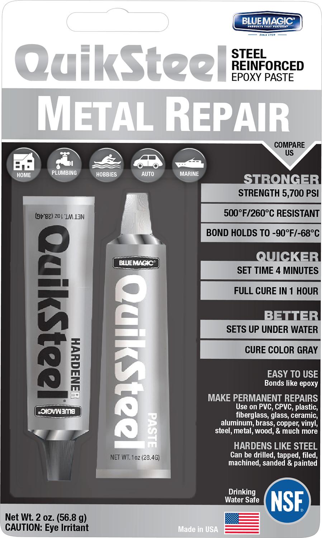 QuikSteel 2oz Metal Tank Repair Kit 6022KTRI