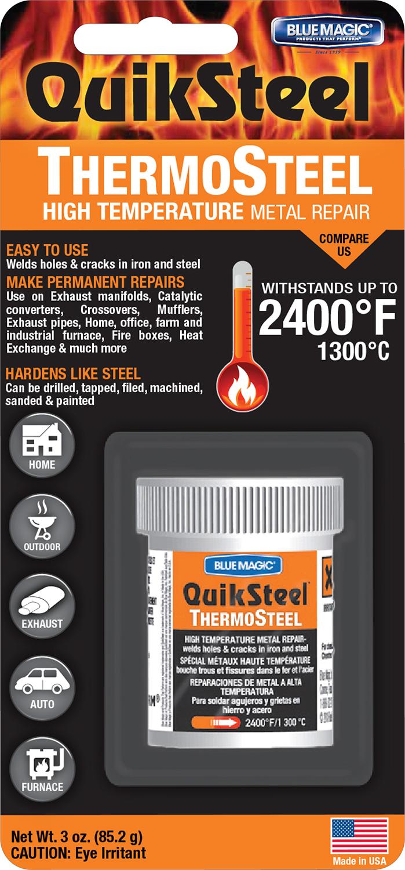 16402 1x Quiksteel Quiksteel Aluminum Repair Blister Card